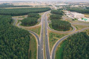 Highway skyview